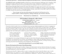 consulting resume 100 management consulting resume sle cv of showy it consultant