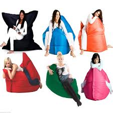 giant xxl bean bags large floor cushion lounger indoor outdoor