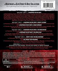 upc code for halloween horror nights amazon com a nightmare on elm street collection all 7 original