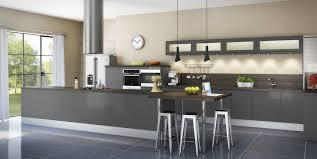 Cuisine Bois Blanchi by Indogate Com Modele Cuisine