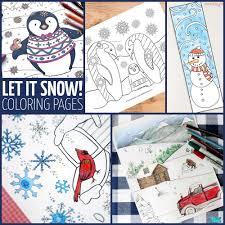 penguin winter coloring page hattifant