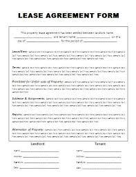 free printable lease agreement apartment free printable lease agreement template blank lease form