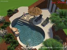 Backyard Designs With Pool Best 25 Beach Entry Pool Ideas On Pinterest Zero Entry Pool