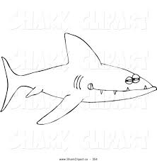 royalty free stock shark designs of printable coloring pages