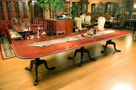 Buy  Large Chippendale Dining Table By MM Signature From Www - Chippendale dining room furniture