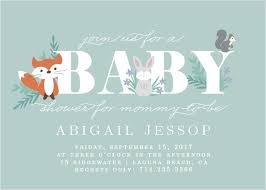 woodland baby shower invitations woodland baby shower invitations match your color style free