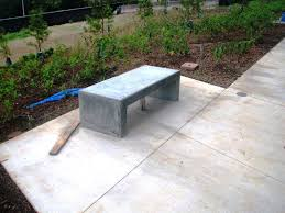 Bench Molds - cement garden bench molds home outdoor decoration