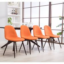 orange dining room orange kitchen dining room chairs for less overstock com