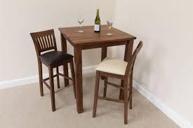 walnut breakfast bar table tall dark american solid walnut breakfast bar table