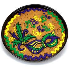 mardi gra cake mardi gras cookie cake cookies by design