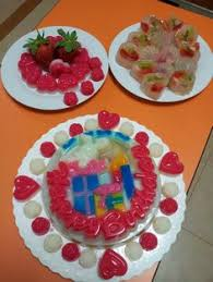 3d agar agar jelly cake cute artistic food u0026 drinks