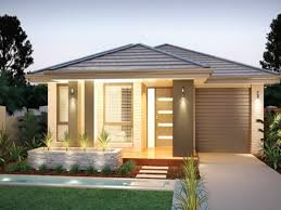 Narrow Lot House Plan Colors For A Narrow Lot House Plans Modern Modern House Design