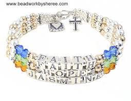 mothers bracelet mothers bracelets 3 strand beaded mothers bracelets