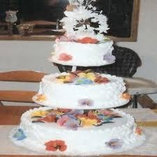 ginny b u0027s cakes pink u0026 blue 2 seperate 3 tier staircase wedding