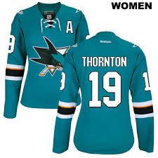joe thornton jersey san jose sharks hockey sport