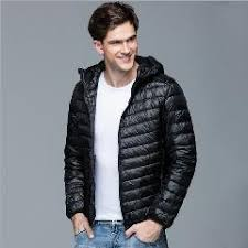 Plus Size Down Coats New Men Winter Coat Fashion Hooded 90 White Duck Down Jackets