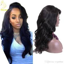 body wave hair with bangs full lace human hair wig body wave with bangs brazilian lace front