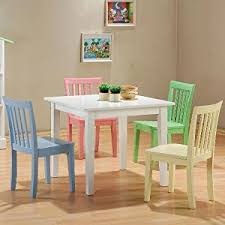 kids play table and chairs kid friendly kitchen table and chairs luxury amazon com 5pc kids set