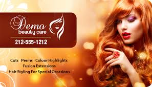 how to cut hair with rounded corners in back 2x3 5 beauty care card round corner full color magnet 20 mil