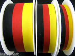 black and yellow ribbon black yellow ribbon german belgium colour national patriotic