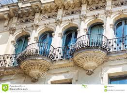 beautiful balcony vintage balcony in spain stock photo image 1593400