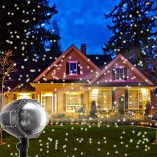 Light Flurries Snowflake Projector Review by Amazon Com Led Snowflake Projector Lights Christmas Projector