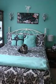Furnishing Your Contemporary Bedroom Ideas Turquoise Gray And Walls - Damask bedroom ideas