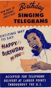 singing telegram birthday today in entrepreneurial history february 10