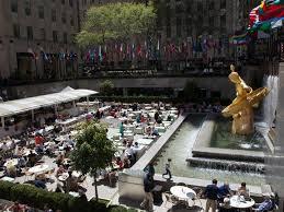 Rockefeller Center Summer Garden - mother u0027s day front u0026 center at rockefeller center