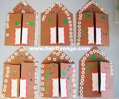 the gingerbread play and a gingerbread house card freebie