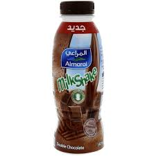 buy almarai milk shake double chocolate 340 ml online in uae abu