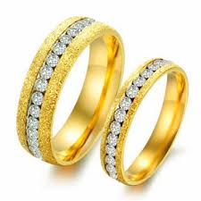 wedding ring dubai 2016 cubic zirconia 18k gold wedding ring new model dubai