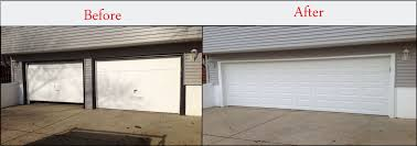 double car garage door home improvement design and decoration