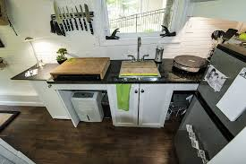 tiny house kitchen with others tennessee tiny house 2