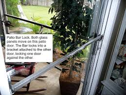 sliding glass door security bars security locks for sliding glass patio doors outdoorlivingdecor
