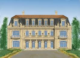 french style architect home designs mansions castles palace
