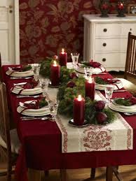 christmas dining room table decorations 49 best christmas table decoration ideas images on