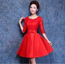 elegant red dress cheap fashion dresses