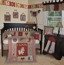 Nursery Decor Sets by Baby Boutique Western Cowboy 13 Pcs Crib Nursery Bedding Set