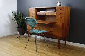 Mid Century Modern Furniture San Francisco by Mid Century Secretary Desk Fits Office With Elegant Hunter Homesfeed