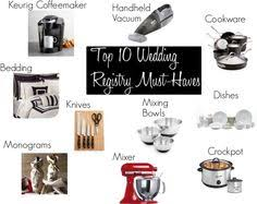 top 10 wedding registry stores wedding registry 10 must wedding registry items gift