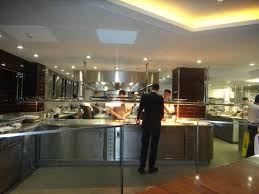 The Kitchen From The Chefs Table Picture Of Petrus London - Kitchen table restaurant london