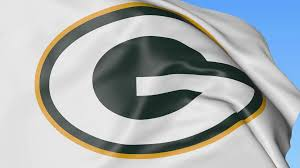 Packer Flags Close Up Of Waving Flag With Green Bay Packers Nfl American
