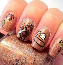 17 thanksgiving nail designs