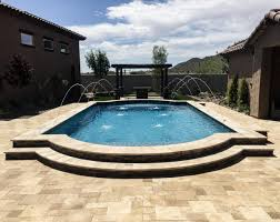 outdoor pools and spas gallery straight line landscape