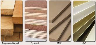is mdf better than solid wood engineered wood vs plywood vs mdf vs hdf mccoy mart