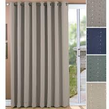 Patio Door Curtain One Way Draw Patio Curtain Thermal Patio Door Curtain