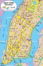 Maps Of New York by Maps Street Map Of New York City