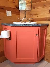 Corner Vanities Bathroom White Bathroom Corner Vanity Diy Projects
