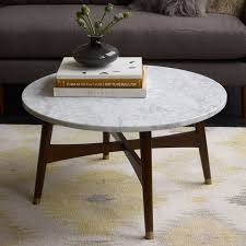 west elm marble top coffee table furniture home marble top coffee table west elm mirrored end